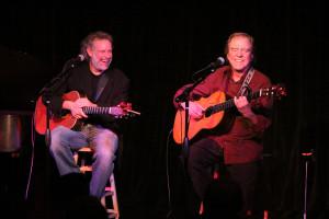 John Gorka & Michael Johnson at The Ark in Ann Arbor, MI